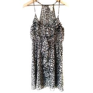 ➡️30% OFF TODAY⬅️ Eyelash Couture Chiffon Dress